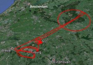 Aircraft tracking via Galileo