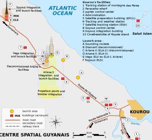 Guiana Space Centre (Centre Spatial Guyanais. CSG)