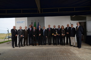 Azores Galileo GSS opening ceremony participants