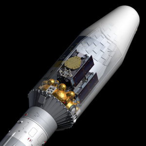 Soyuz Fregat upper stage, Galileo payload and fairing