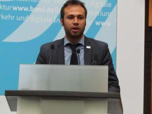 Claudio Palestini,  PRS Technical Officer at European GNSS Agency