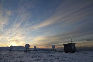 Medium-Earth Orbit Local User Terminal (MEOLUT) on Svalbard