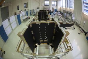 Galileo Satellite Production Line