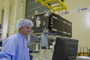 Galileo at ESTEC Test Centre