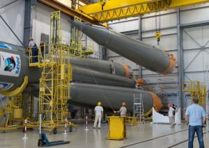 Assembling Soyuz