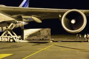 Galileo satellite unloaded
