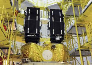 Galileos on Fregat upper stage