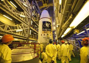 Galileo satellites placed on Soyuz
