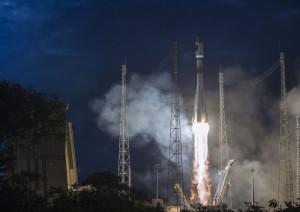Galileo Soyuz liftoff