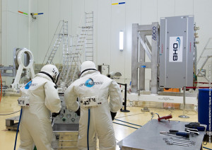 Satellite fueled in S3B payload preparation facility