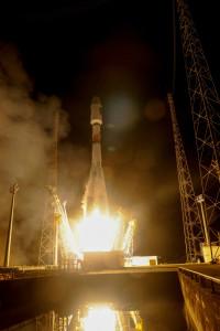 Galileo Soyuz VS12 liftoff