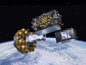 Galileo satellites entering free-flight
