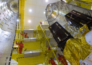 Satellites in the fairing (III)
