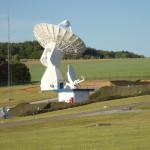 Galileo's 20-m IOT L-band antenna at Redu