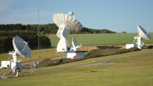 Galileo's 20-m IOT L-band antenna at Redu