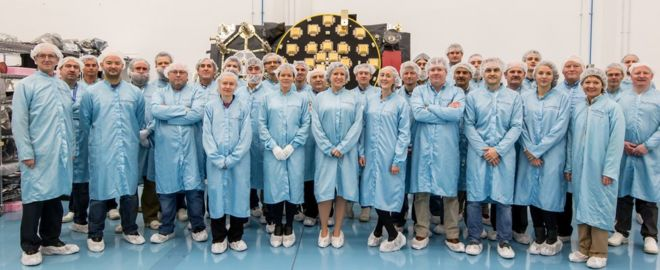 SSTL team with payload22