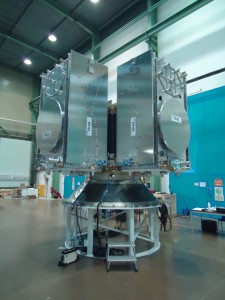 Four-satellite dispenser