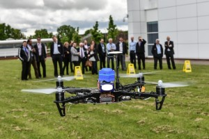 Galileo drone at ordnance survey