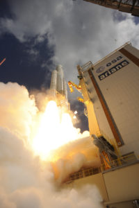 Liftoff of Ariane flight VA233